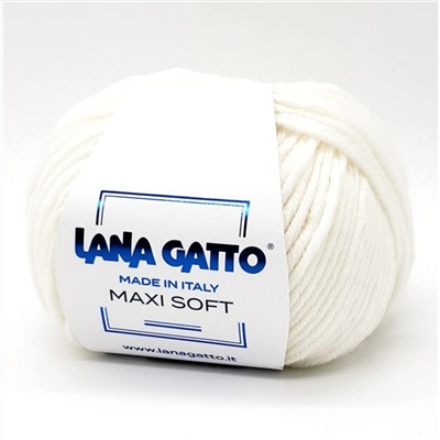 Пряжа Lana Gatto Maxi Soft (Макси Софт)