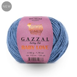 Пряжа GAZZAL Baby Love-GZ