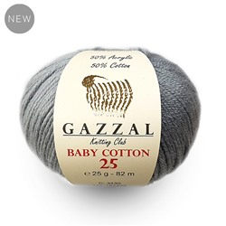 Пряжа GAZZAL BABY COTTON 25