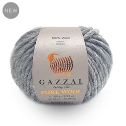Пряжа GAZZAL PURE WOOL-4